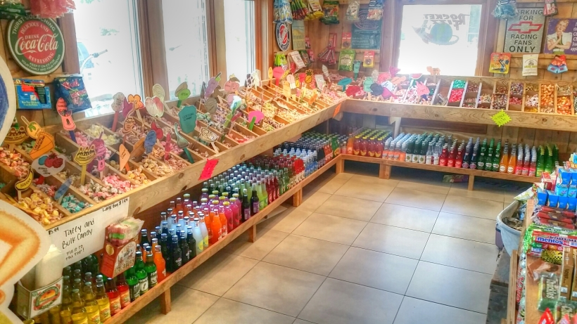 Rocket Fizz candy, Winona Lake