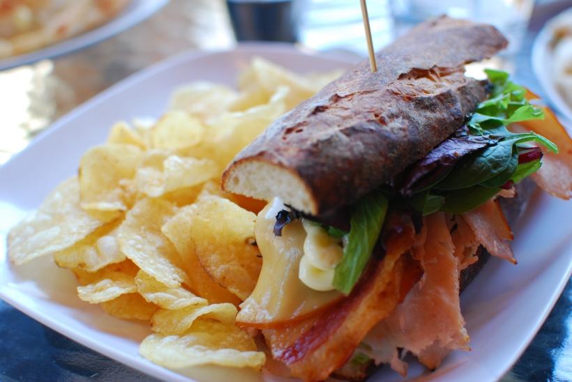 Smoked Gunthrop Turkey Sandwich