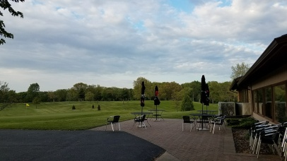 Outdoor patio at the clubhouse at Rozella. Hopefully ElFaro will be able to utilize this area for al fresco dining.