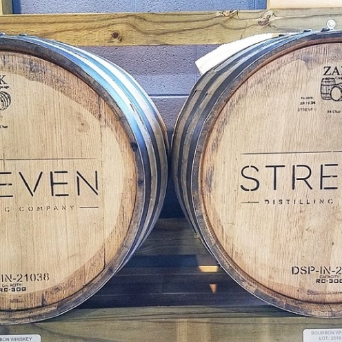Can't wait to see how the bourbon from Streven Distilling tastes!