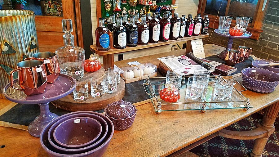 My favorite spot in the whole store - the barware/cocktail section!