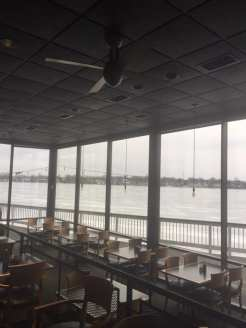 View of the lake from Asian-Cajun