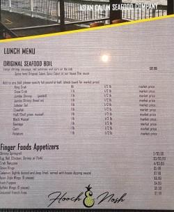 asian cajun menu warsaw indiana