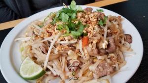 pad thai, plate, restaurant, warsaw, indiana, kosckusko