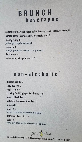 drink menu indiana