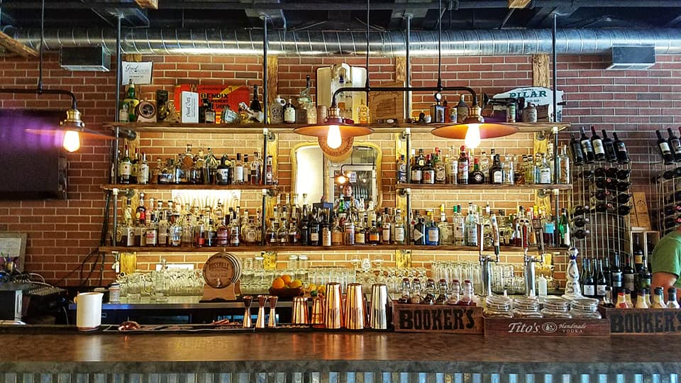 The bar at South Bend's Hammer and Quill