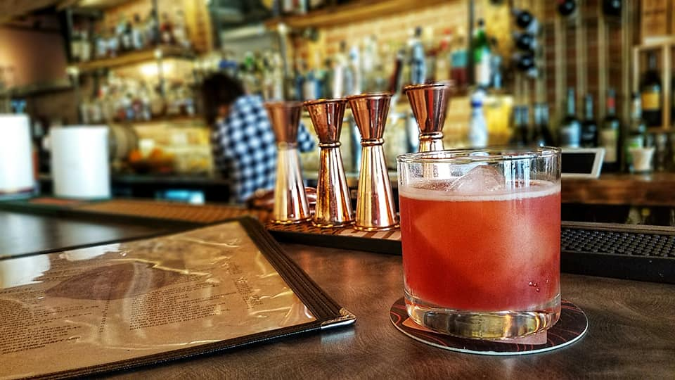 Hammer and Quill's tequila based Valkyrie cocktail