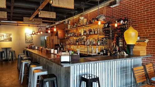 Grab a seat at the bar at South Bend's Hammer and Quill