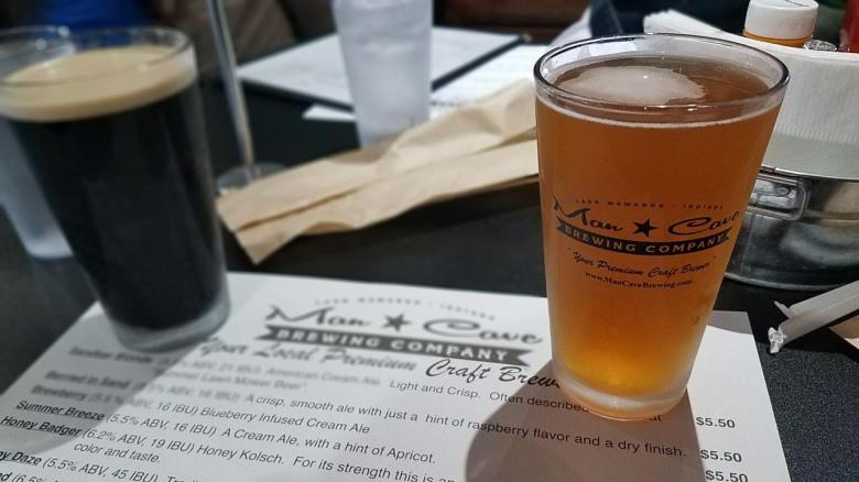 brewery, indiana, kosciusko, restaurant, beer