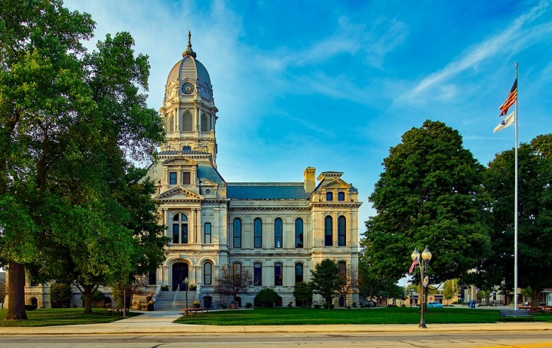 Kosciusko County courthouse