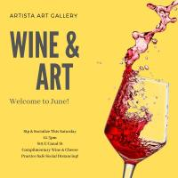 Artista to Host Wine and Art Event May 30th