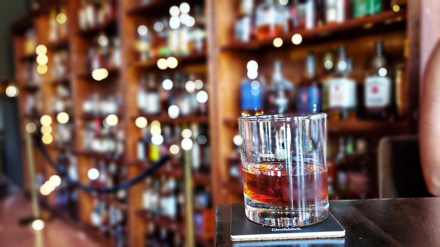 Old Fashioned at Anthology Whiskey Room